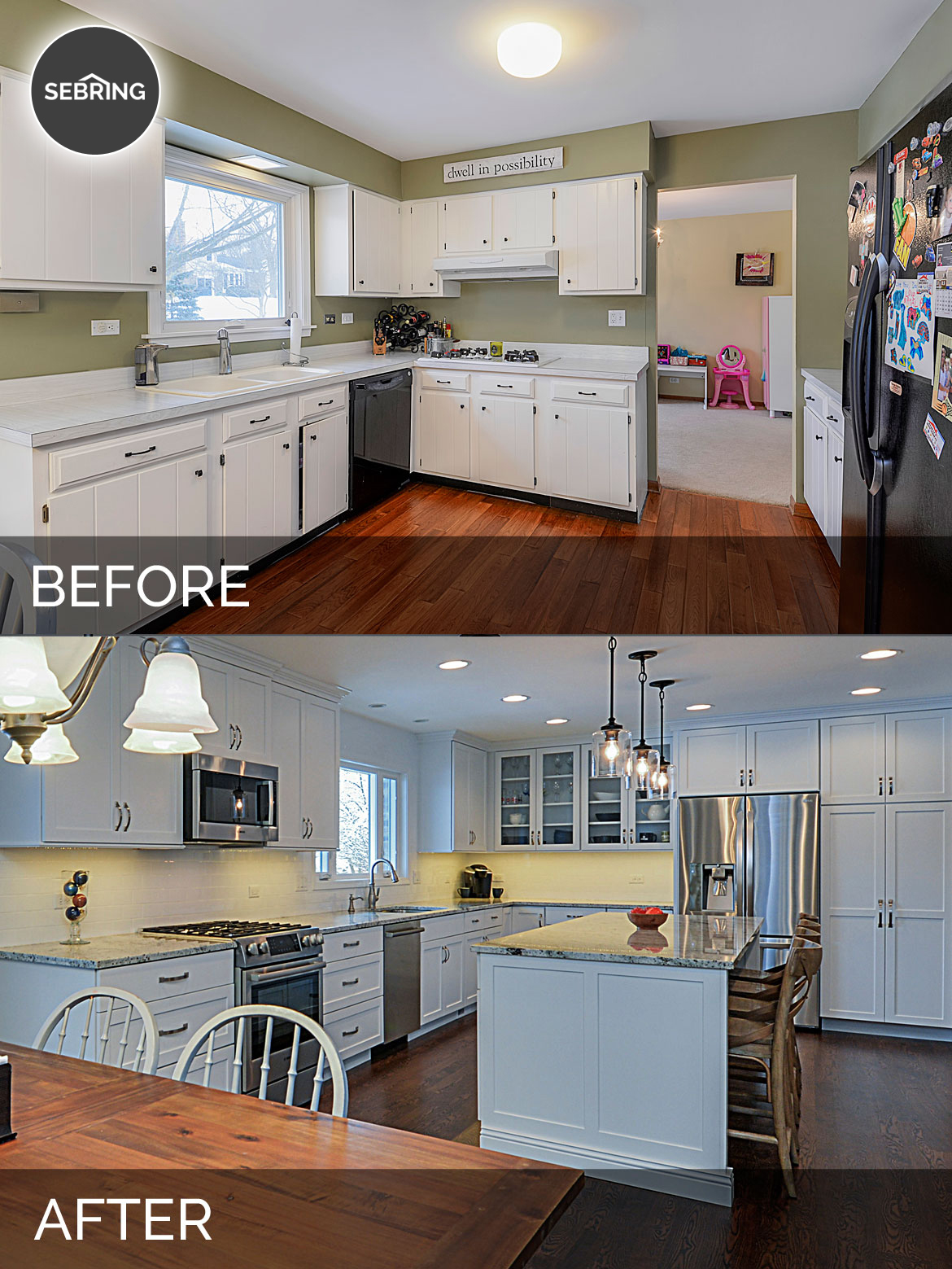Ryan Amp Missy S Kitchen Before Amp After Pictures Home