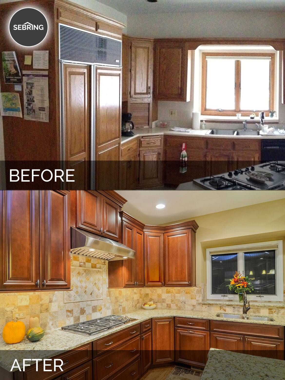 Bernard Amp Karan S Kitchen Before Amp After Pictures Home