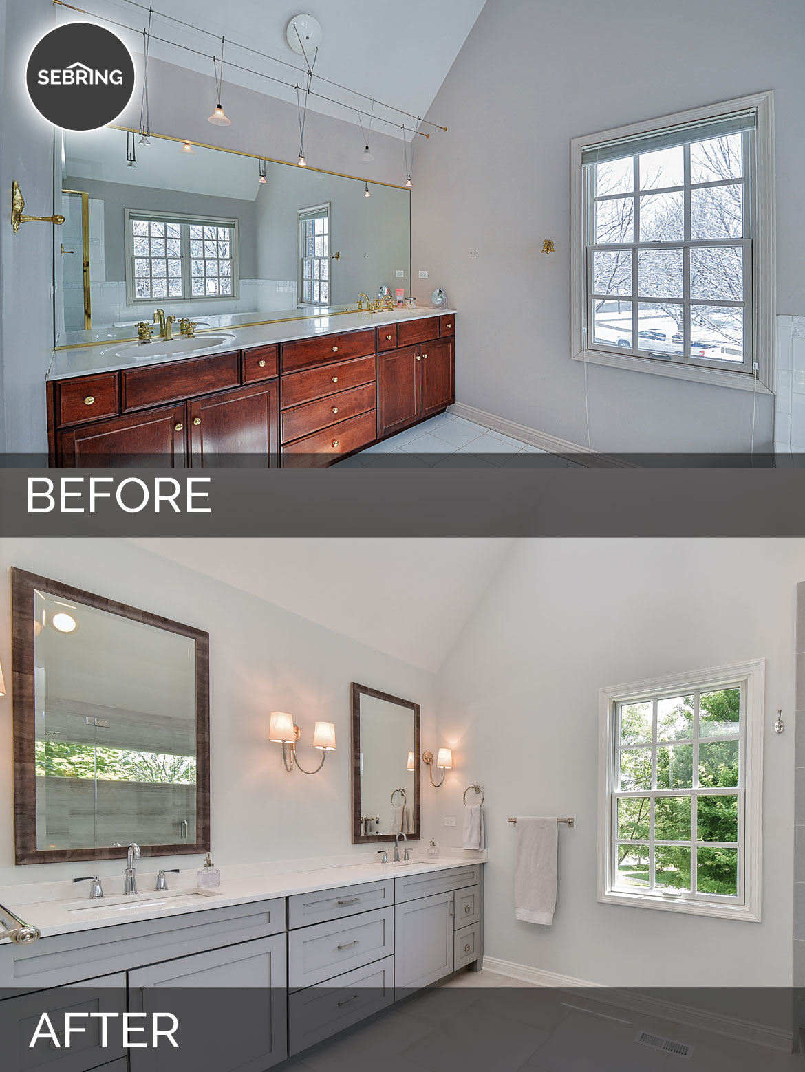 Carl Susan S Master Bath Before After Pictures Home Remodeling