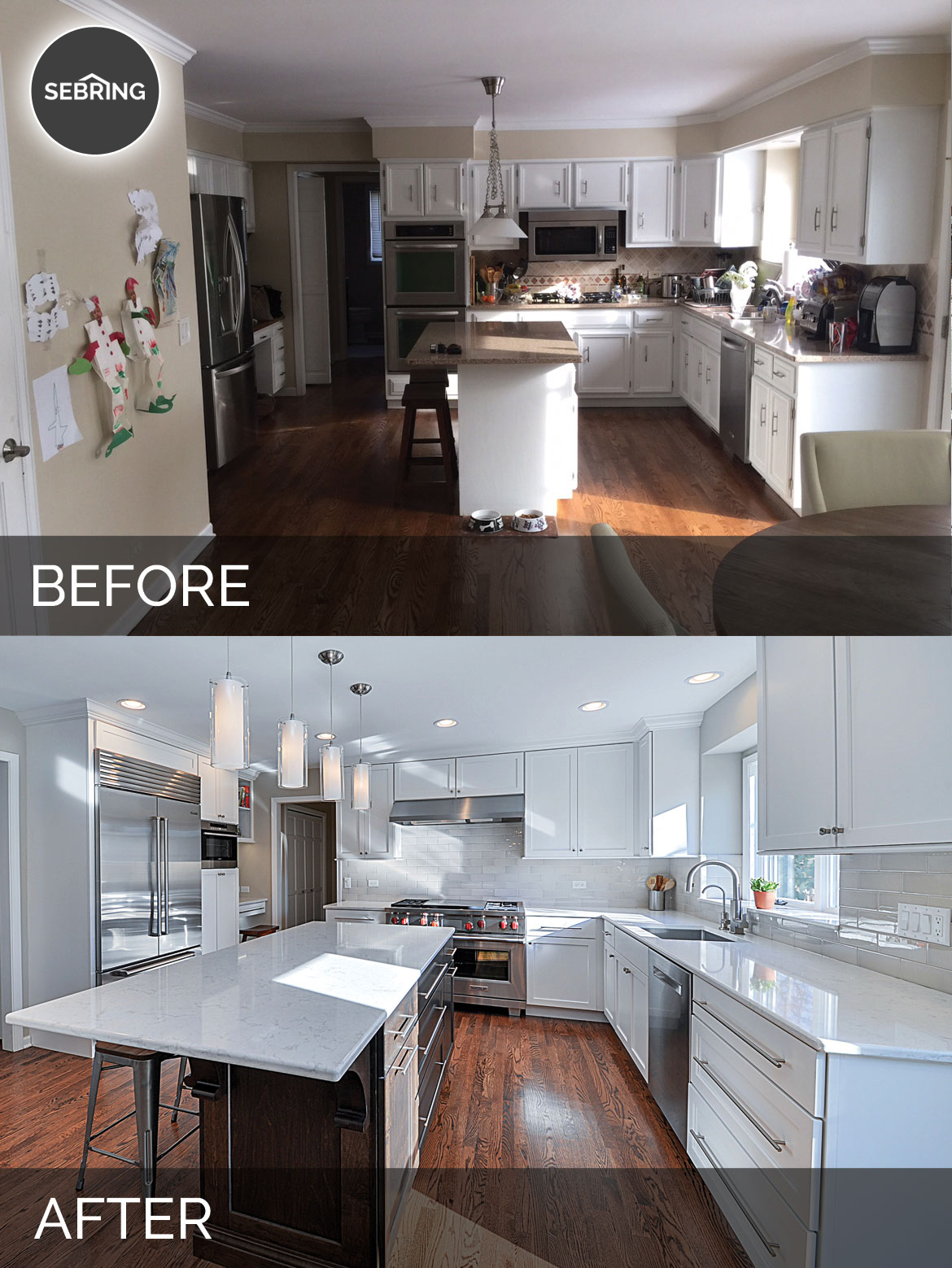 Derek & Christine\'s Kitchen Before & After Pictures | Home ...