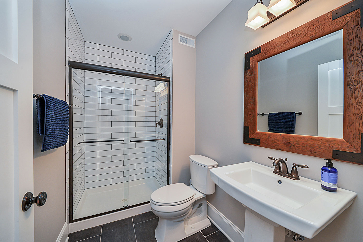 Drew Nicoles Basement Remodel Pictures Home Remodeling - How to build a bathroom in the basement