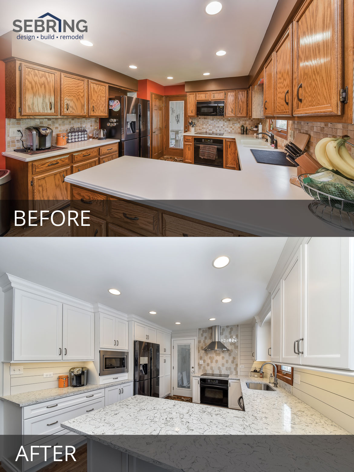 Don Amp Kathy S Kitchen Before Amp After Pictures Home