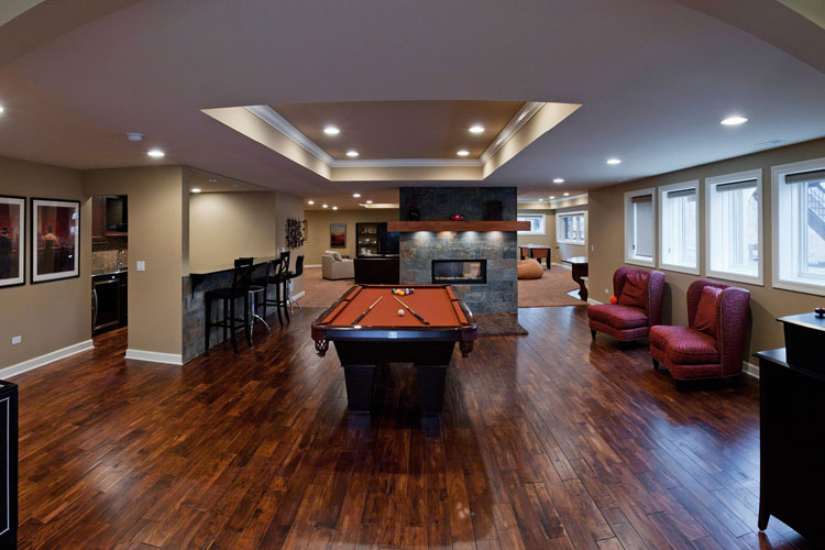 Basement Remodeling Naperville Il Mesmerizing Basement Remodeling & Basement Finishing  Naperville Il 2017