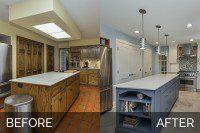 Warrenville Kitchen Before & After - Sebring Services