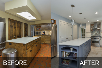 Warrenville Kitchen Before & After - Sebring Services