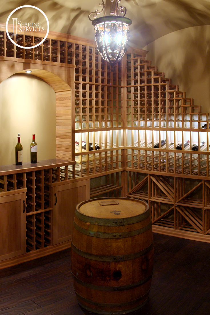 8 awesome basement remodeling ideas sebring services for Build a wine cellar