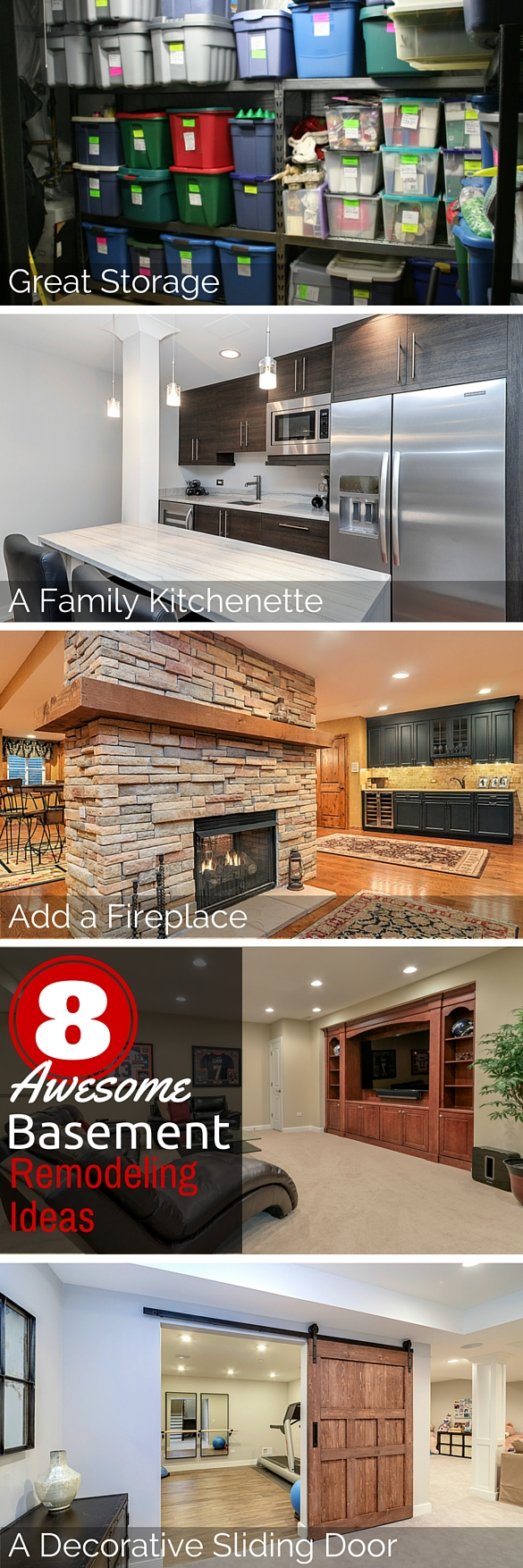 Awesome Basement Remodeling Ideas 4 Sebring Services