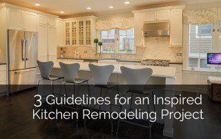Guildlines for an Inspired Kitchen Remodel Project 1 Sebring Services