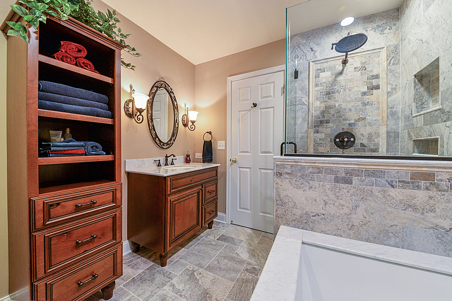 bathroom remodeling tile cabinet granite quartz ideas lisle woodridge sebring services