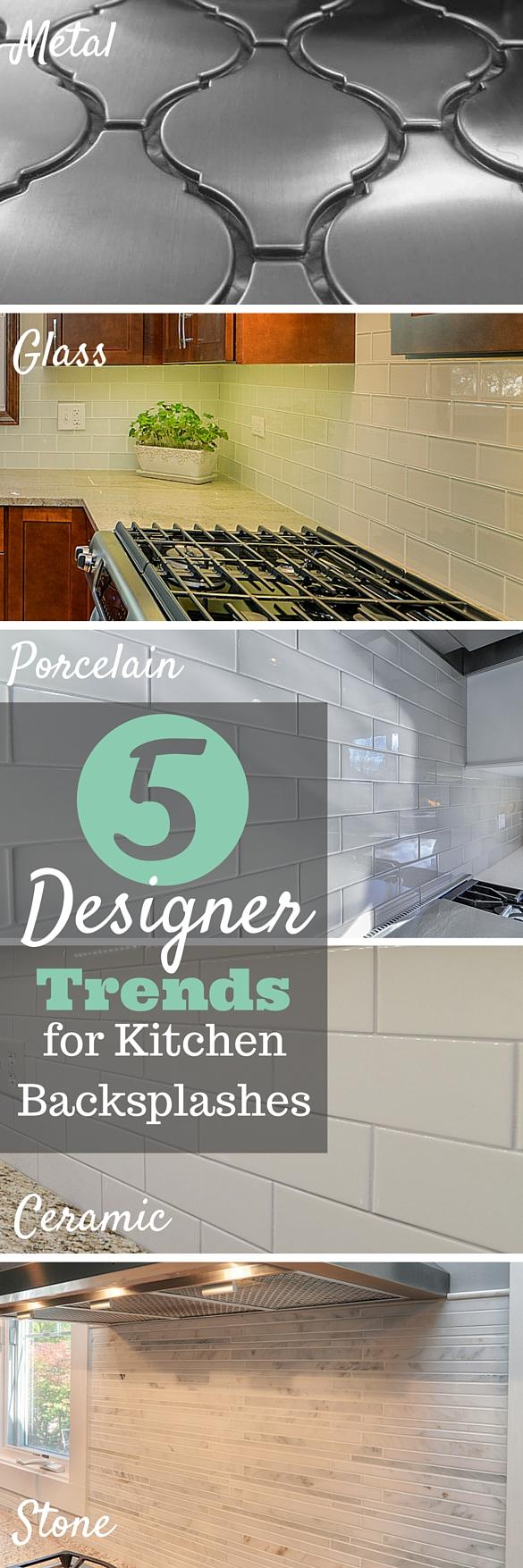 5 Designer Trends Kitchen Backsplashes Sebring Services