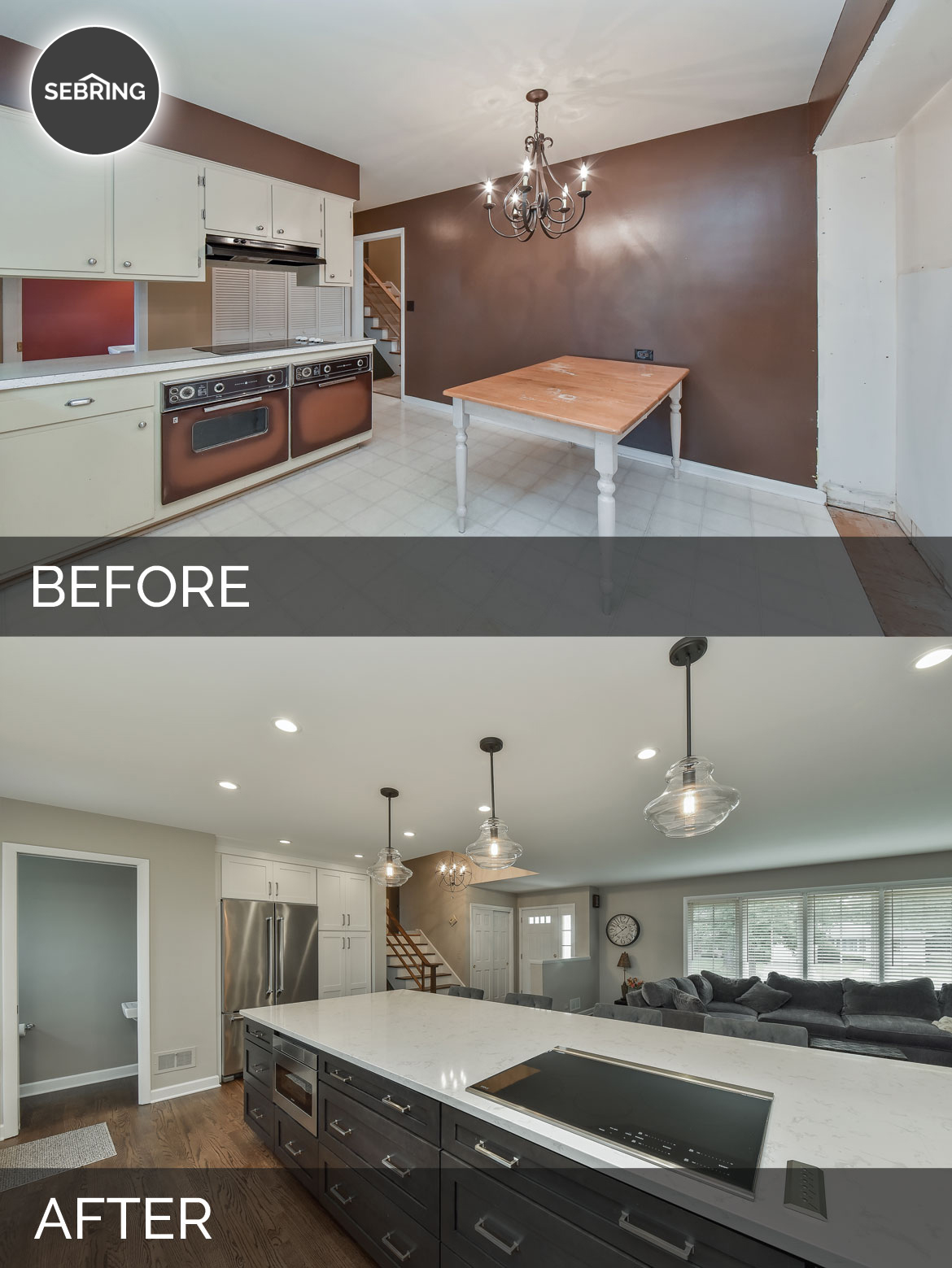 Dale Traceys Kitchen Before After Pictures Home Remodeling