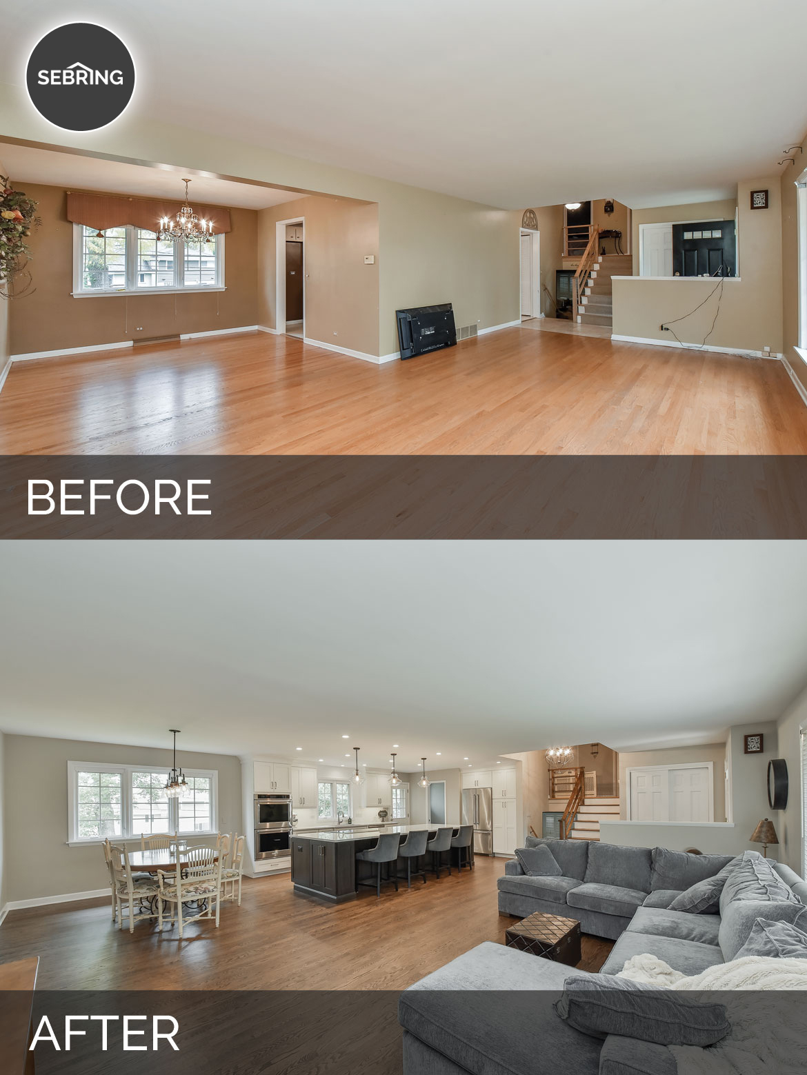 Dale & Tracey\'s Kitchen Before & After Pictures | Home Remodeling ...