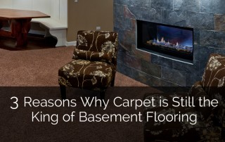3 Reasons Why Carpet is Still the King of Basement Flooring 1 Sebring Services