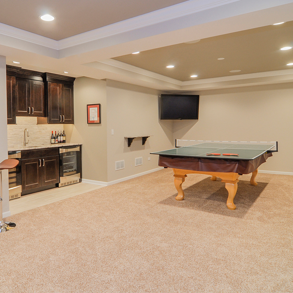 How To Carpet A Basement Floor: Carpet Is Still The King Of Basement Flooring