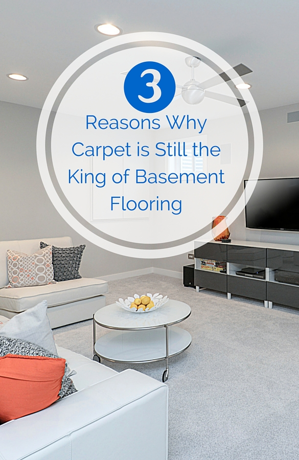 3 Reasons Why Carpet is the King of Basement Flooring Sebring Services