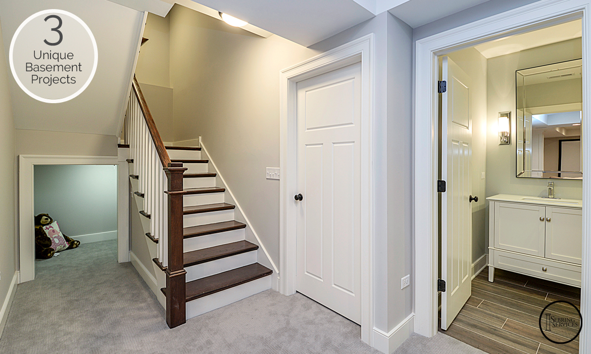 3 Unique Basement Finishing Projects Family Room Sebring Services