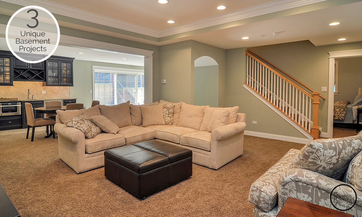 Unique Basement Finishing Projects You Will Love Home - Basement finishes
