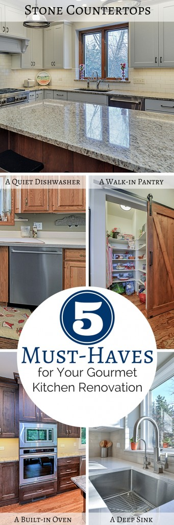 ordinary Kitchen Remodel Must Haves #9: 5 Must-Haves for Your Gourmet Kitchen Renovation Sebring Services 1. A  Walk-In Pantry