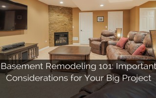 Basement Remodeling 101 Important Considerations Big Project 1 Sebring Services