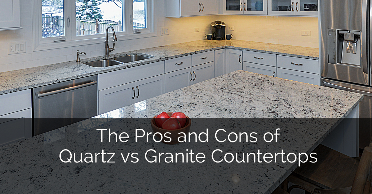Pros and Cons of Quartz vs. Granite Countertops 1 Sebring Services