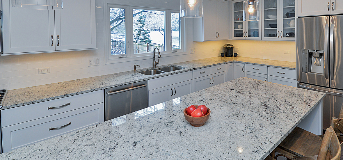 Pros and cons of quartz vs granite countertops the for Granite countertop width