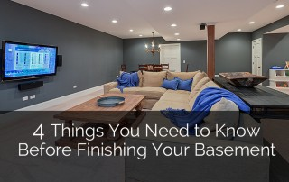 Things You Need to Know Before Finishing Your Basement 1 Sebring Design Build