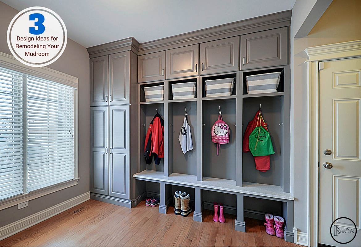 3 design ideas for remodeling your mudroom home for Mudroom locker design plans