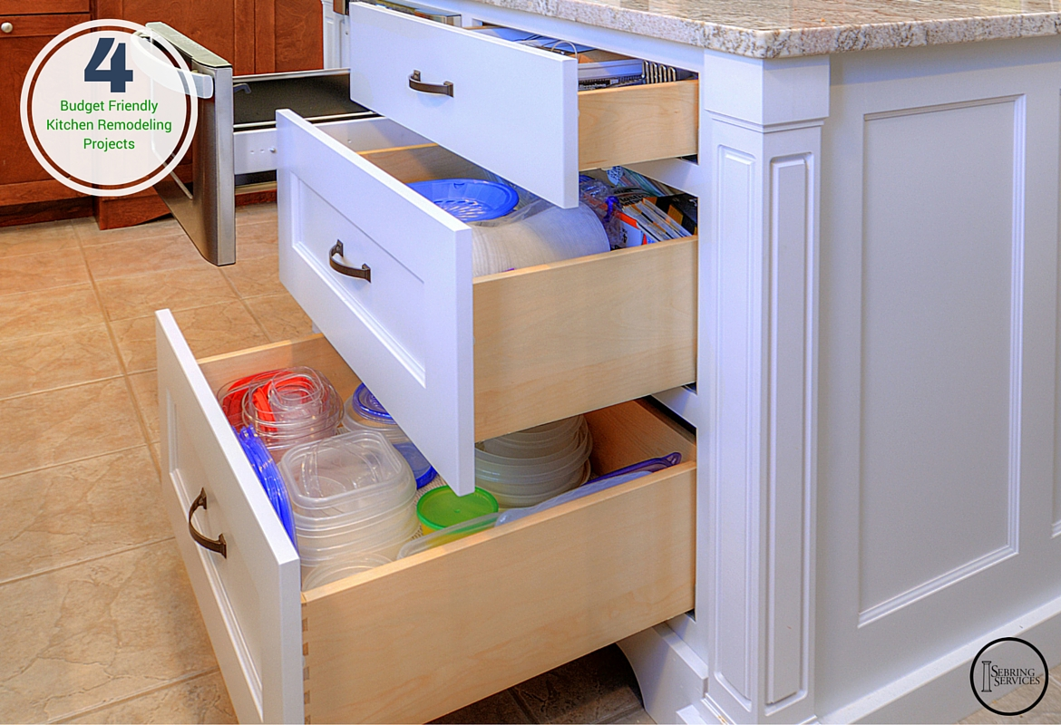 4 Budget Friendly Kitchen Remodeling Projects Home Remodeling Contractors Sebring Design Build