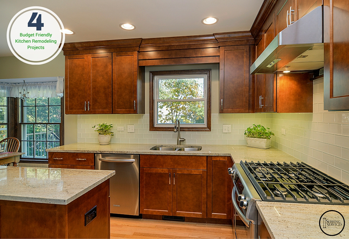4 Mid-Level Kitchen Remodeling Projects in Naperville Sebring Services