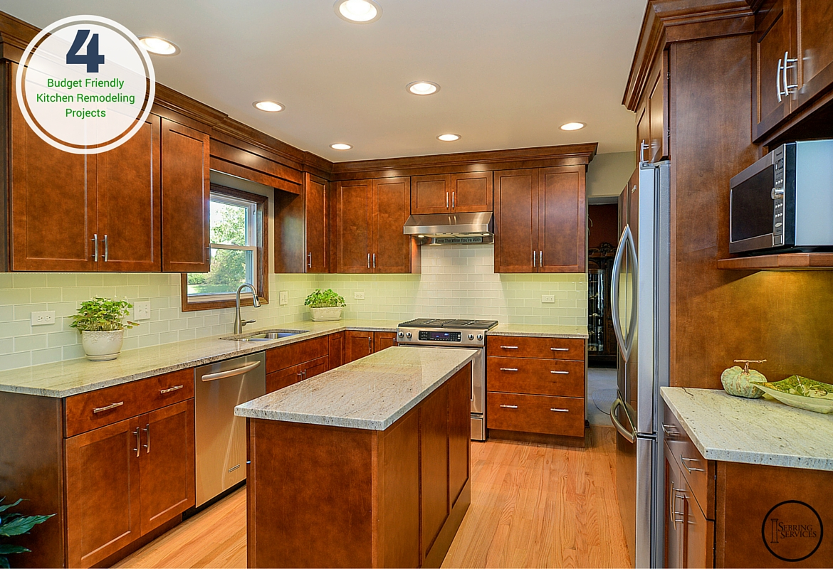4 Budget Friendly Kitchen Remodeling Projects | Home Remodeling ...
