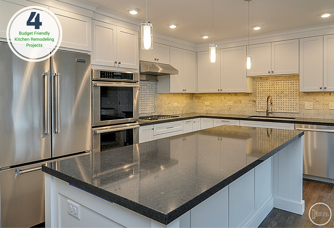 4 Mid Level Kitchen Remodeling Projects in Naperville Sebring Services Budget Friendly  Home