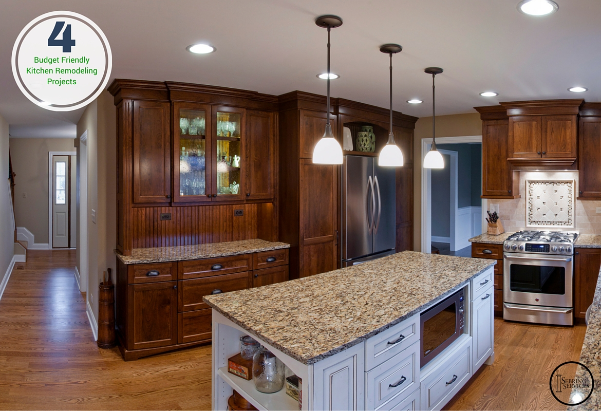 4 Bud Friendly Kitchen Remodeling Projects