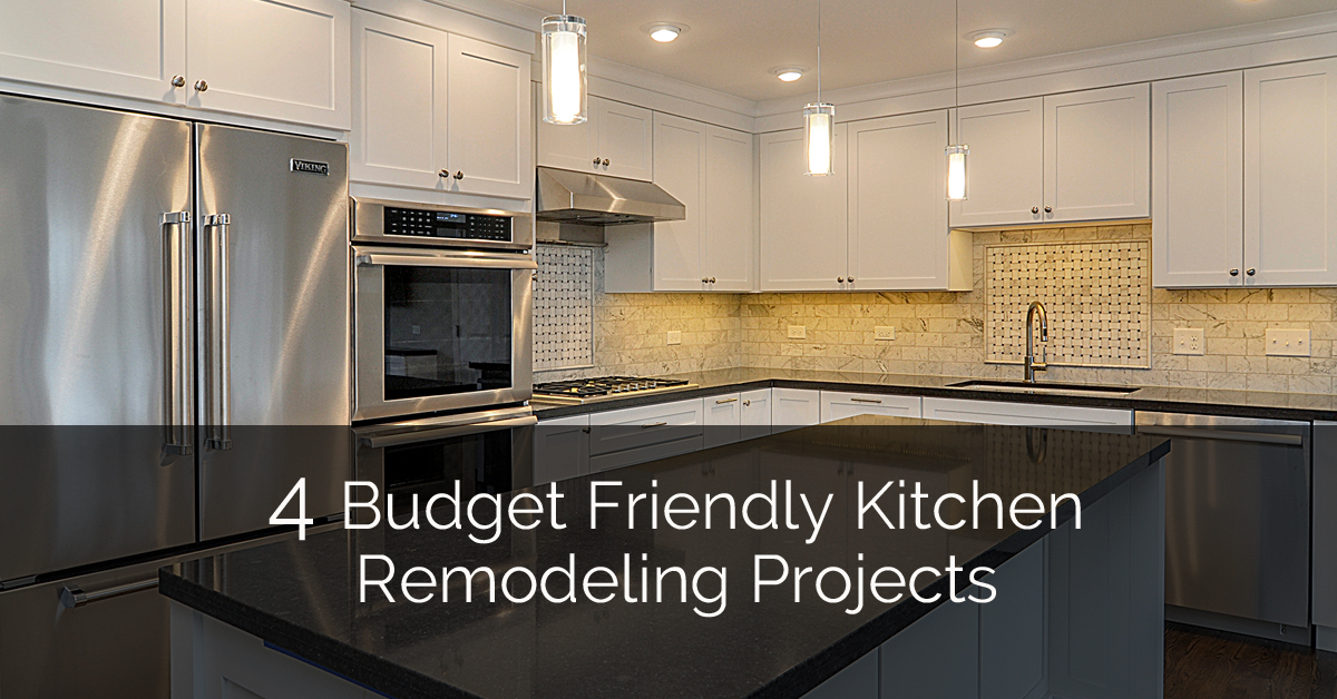 4 Budget Friendly Kitchen Remodeling Projects | Home Remodeling Contractors | Sebring Design Build