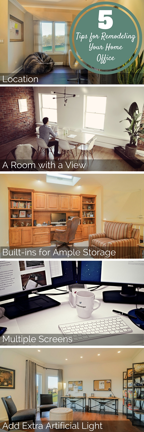 5 Tips for Remodeling Your Home Office