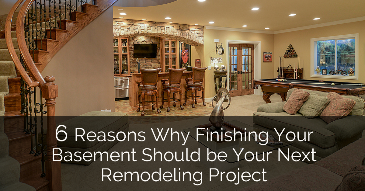6 Reasons Why Finishing Your Basement Should be Your Next ...