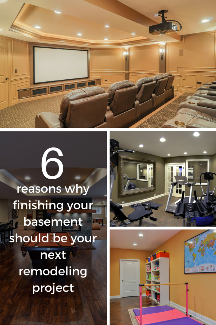 6 Reasons Why Finishing Your Basement Should be Your Next Remodeling Project