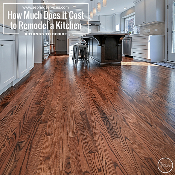 Cost To Remodel Kitchen Remodeling Kitchen Cost Kitchen