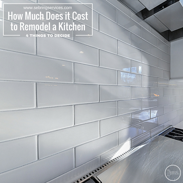 How Much Does It Cost To Remodel A Kitchen Excellent