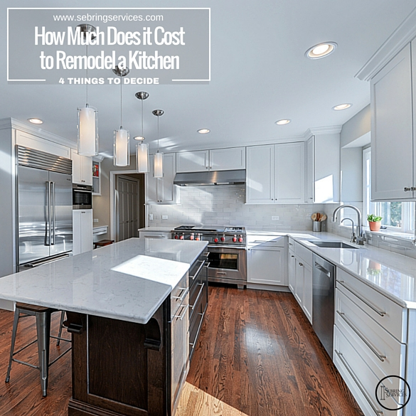 How Much Does it Cost to Remodel a Kitchen Sebring Services
