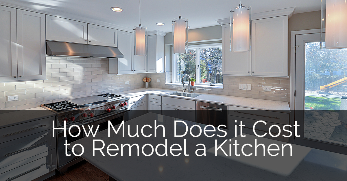 How much does it cost to remodel a kitchen in naperville for Does a walkout basement cost more