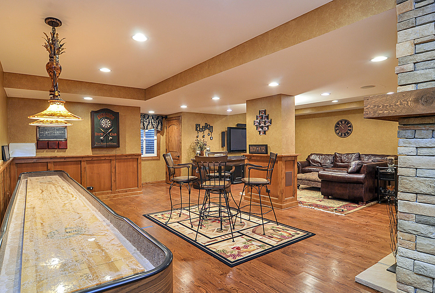 Michael Amp Nancy S Basement Remodel Pictures Home