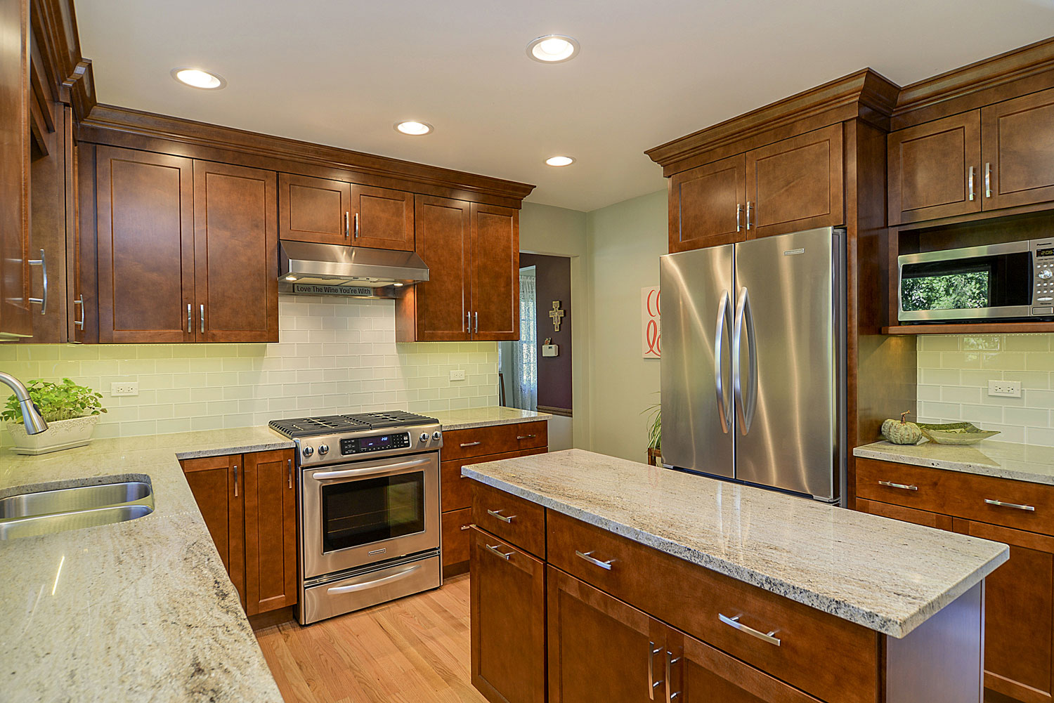 kitchen design naperville.  Kitchen Remodeling Ideas wood Cabinetry light Granite Aurora Naperville IL Illinois Sebring Services Gregory Barbara s Remodel Pictures Home