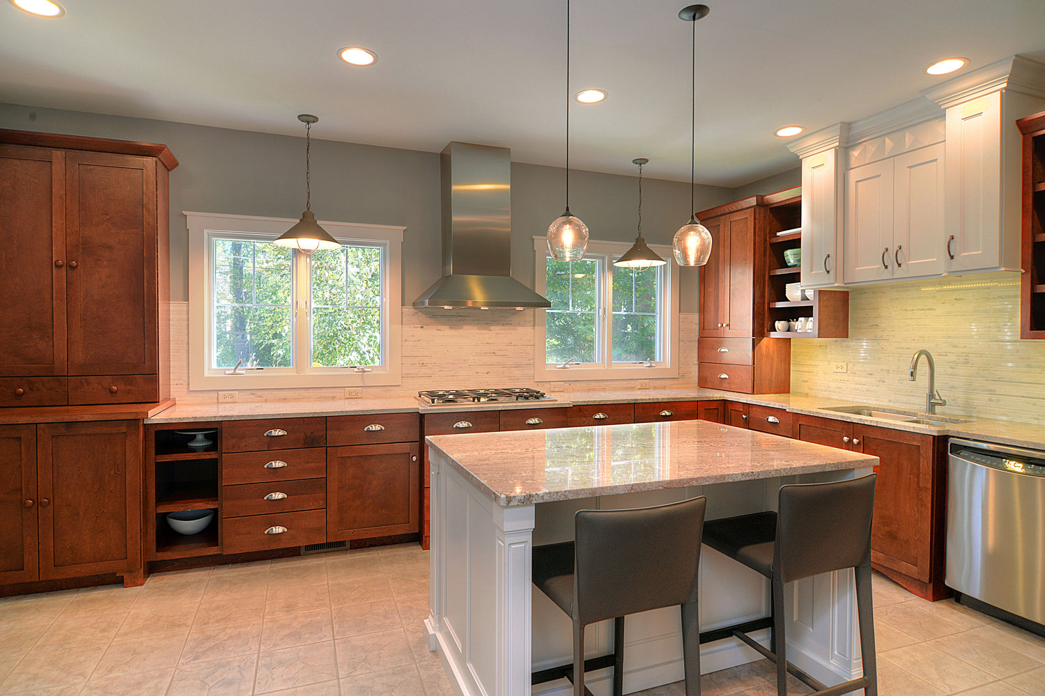 Brian & Mary's Kitchen Remodel Pictures | Home Remodeling ...