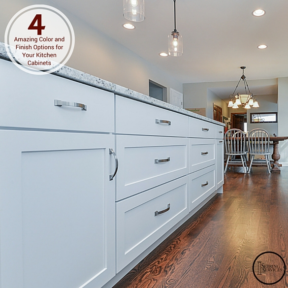 white color kitchen. Four Amazing Color and Finish Options for Your Kitchen Cabinets 4  Home