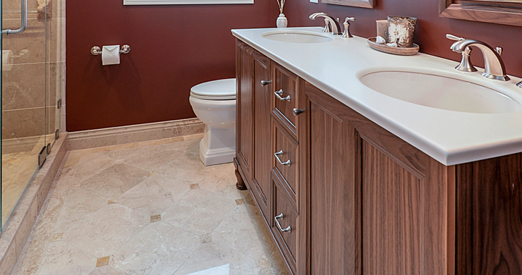 Bathroom remodeling ideas to make the most of small spaces - Small bathroom remodel with tub ...