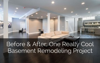 Before & After: One Really Cool Basement Remodeling Project - Sebring Services
