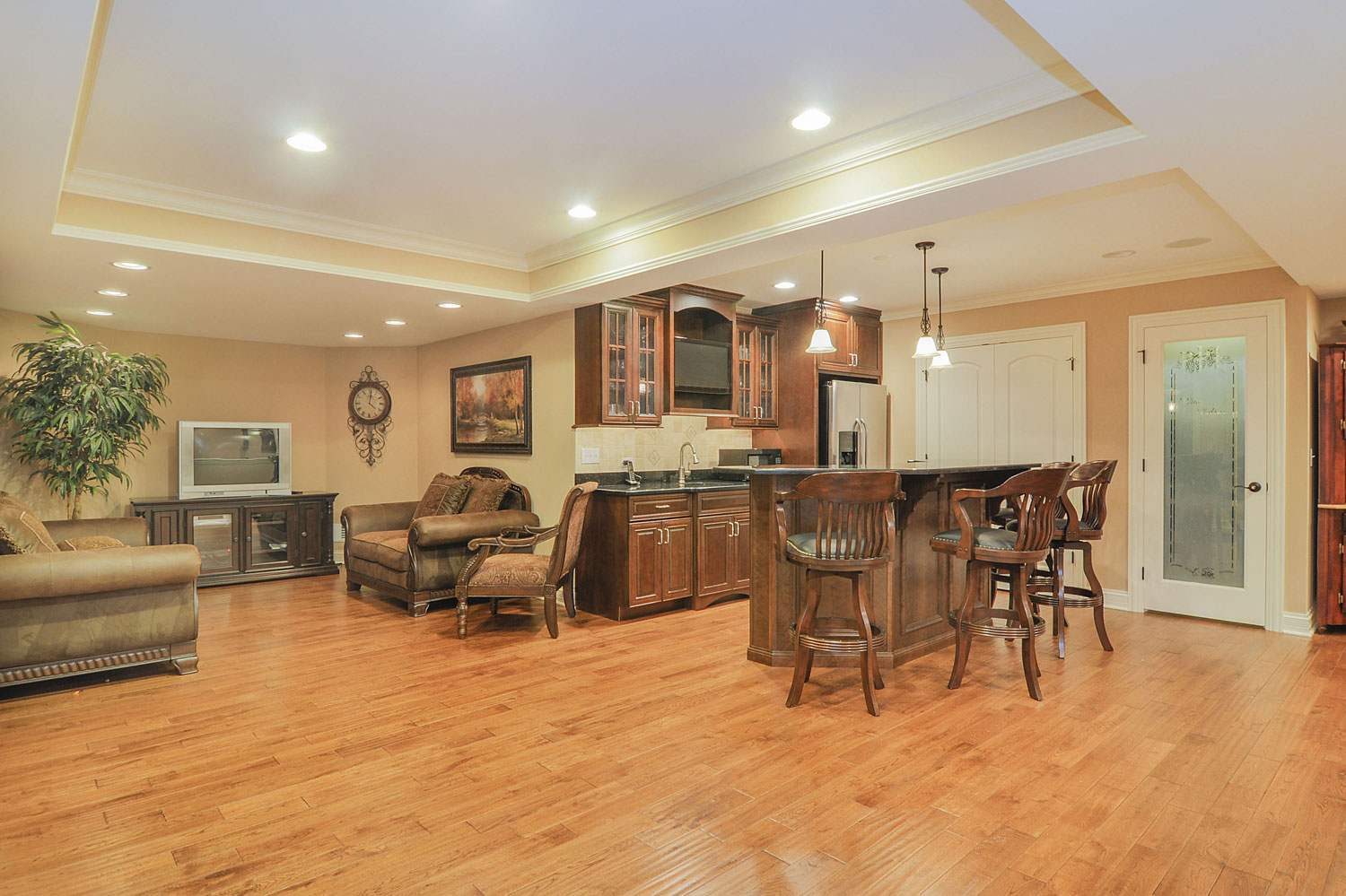 Home Remodeling Ideas Gallery: Mark & Kim's Basement Remodel Pictures