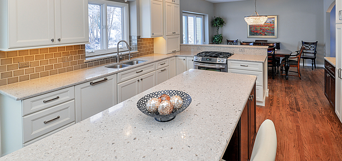 Upgrade your kitchen countertops with these new quartz colors home remodeling contractors - Pictures of kitchens with quartz countertops ...