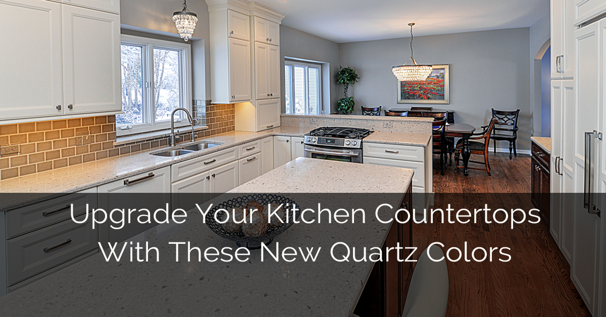 Upgrade Your Kitchen Countertops With These New Quartz Colors | Home ...