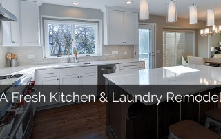 A Fresh Kitchen & Laundry Remodel - Sebring Services